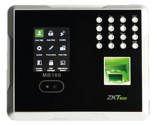 Zkteco MB160 - Máy chấm công khuôn mặt kết hợp vân tay