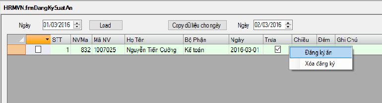 Hệ thống quản lý suất ăn thông minh trong công ty FCC Việt Nam